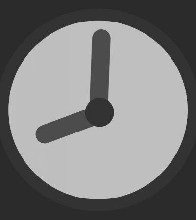zegarek z godziną 8:01
